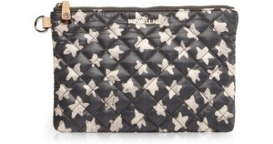MZ Wallace Star-Print Quilted Pouch