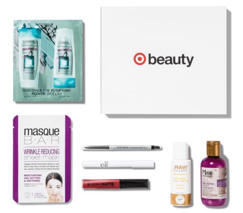 October, 2017 Target Beauty Box