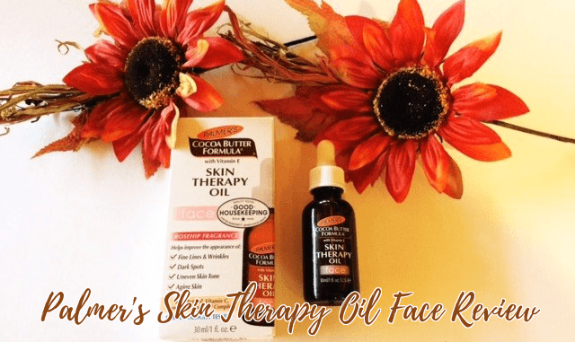 Palmer's Cocoa Butter Formula Skin Therapy Oil Face Review