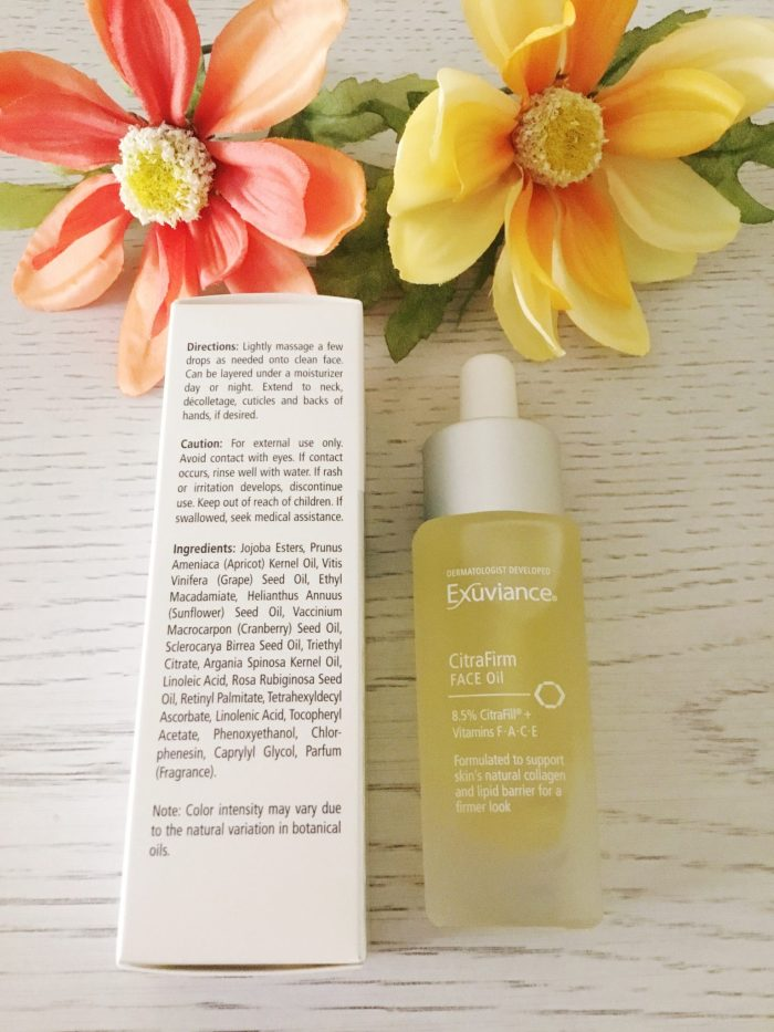 Exuviance CitraFirm Face Oil