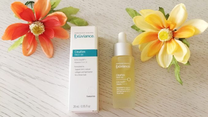 Exuviance CitraFirm Face Oil Review