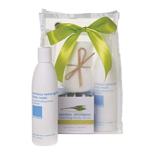 LATHER Bamboo Lemongrass 3 Step Set