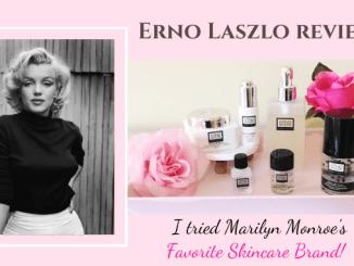 Erno Laszlo Review - Marilyn Monroe's Favorite Skincare Brand