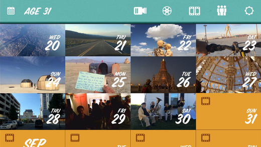 Apps Para Instagram: 1 second everyday