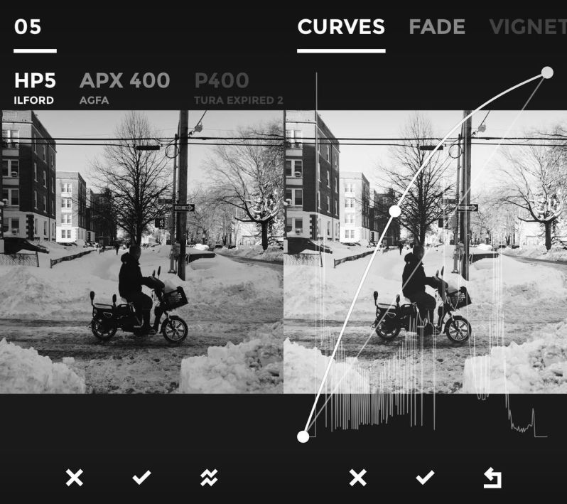 Apps para instagram: BLACK