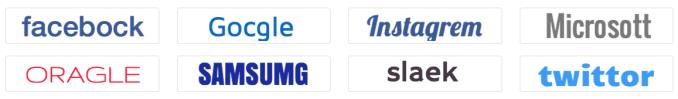 sample logo created using logo factory
