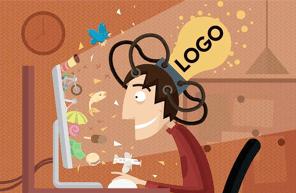 logo designer should be creative