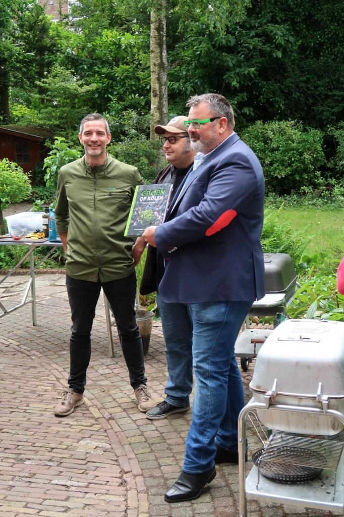 Veertig en voor het eerst een vega(n) barbecue: Groen op Kolen