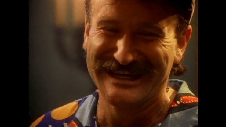 Robin Williams en Don't Worry Be Happy