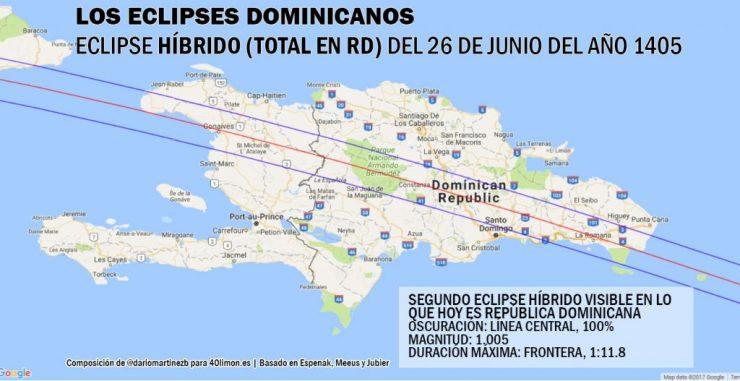 Segundo eclipse híbrido en RD