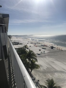View From the Rooftop Sun Deck Restaraunt. Special Egg Breakfast Platter will cost you $2.95.