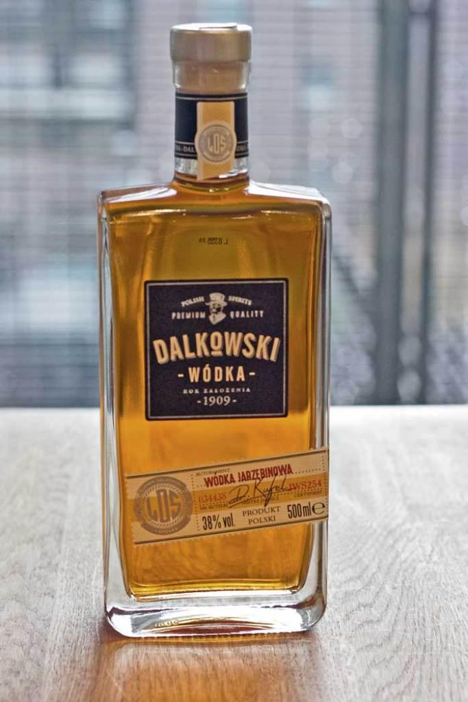 Dalkowski, Wódka Jarzębinowa 40procent.pl Blogo o wódce