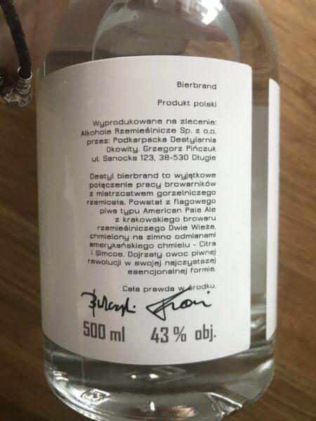 Destyl Bierbrand etykieta