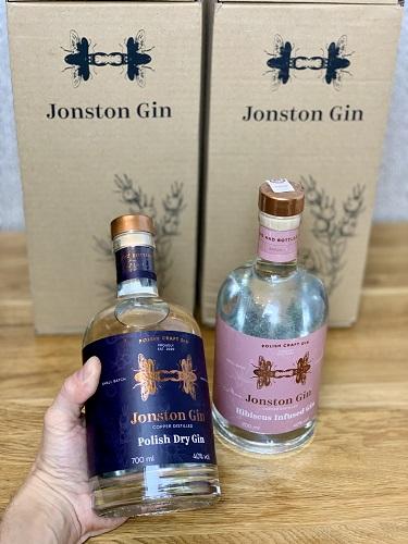Jonston Gin - klasyczny, męski gin