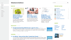 Feedly | Social RSS, magazine-like start page