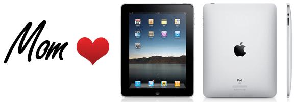 Mom's Love the iPad   40Tech