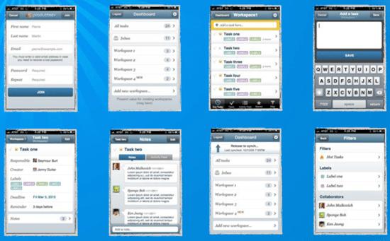 Producteev 2 iPhone App