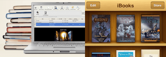 Get Your Current eBook Library On Your iBooks Bookshelf with Calibre | 40Tech
