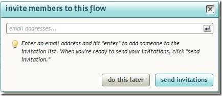 invite members to flow