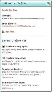 shareflow options