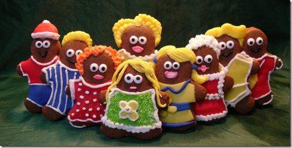 social media gingerbreadmen