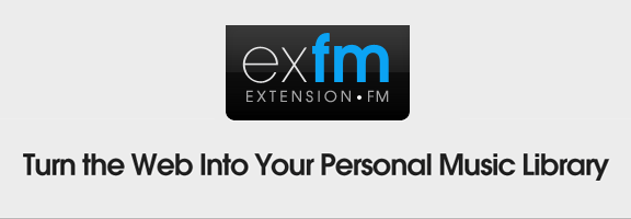ExtensionFM Google Chrome Online Music Library