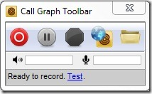 Call Graph Toolbar