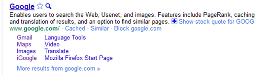 Block Sites from Search Results with Personal Block List Extension for Google Chrome, Rockmelt   40Tech
