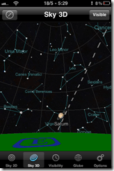 Constellations on the iPhone with Planets for iPhone, iPad | 40Tech