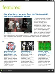 Feedly Mobile 2.0 | Google Reader Magazine | 40Tech