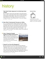 Feedly Mobile 2.0 | Find Already Read Posts in History | 40Tech