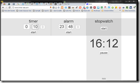 Timer Browser Stopwatch