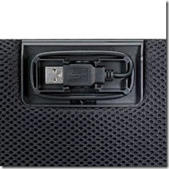 Portable LapGuard Lapdesk with Hidden USB Cable | Digital Innovations