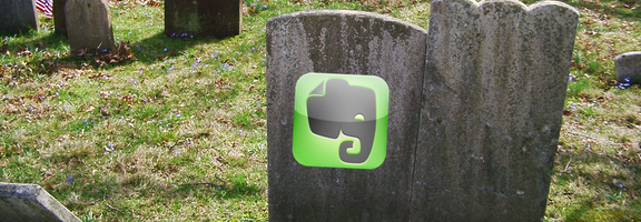 Evernote death