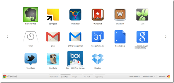 Google Chrome Apps For Business, Life and Getting Things Done | 40Tech