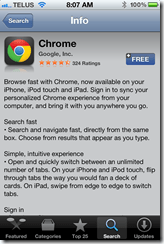 Google Chrome for iPhone | 40Tech
