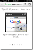 Chrome iPhone App | Drag To Open, Close Tabs | 40Tech