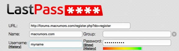Lastpass password strength