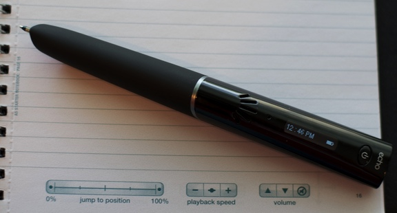 Livescribe pen and special paper