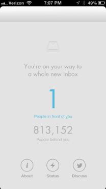 Mailbox reservation queue