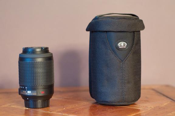 Lens case size