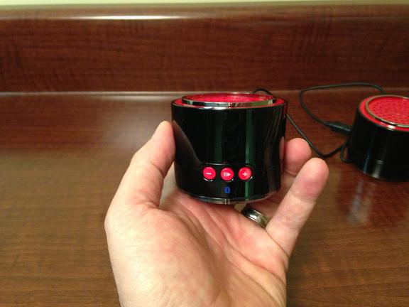 gmyle speaker size