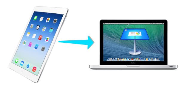 Control keynote on mac from ipad