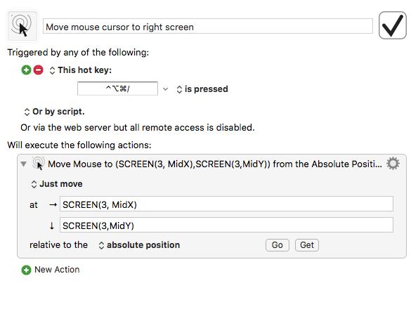 move mac cursor to right monitor