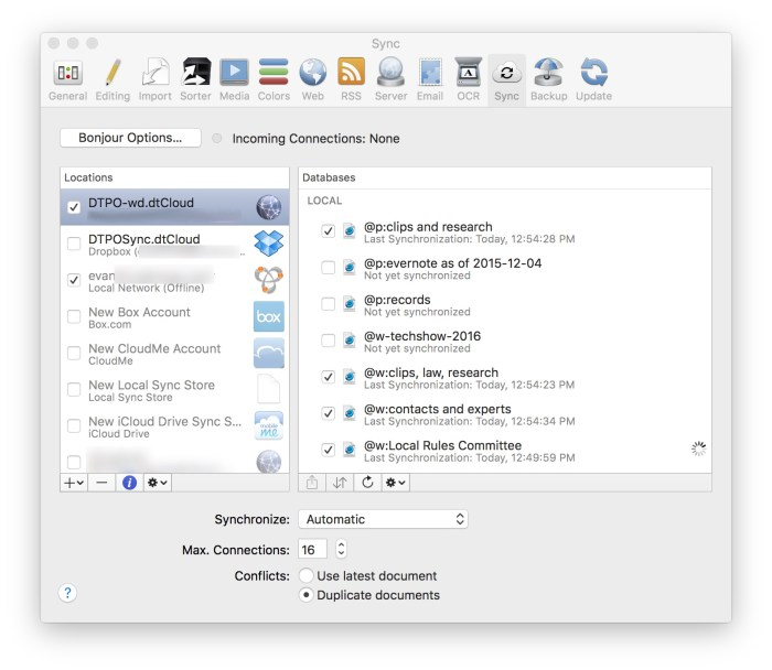 DEVONthink's New Sync – Roll Your Own Evernote – 40Tech