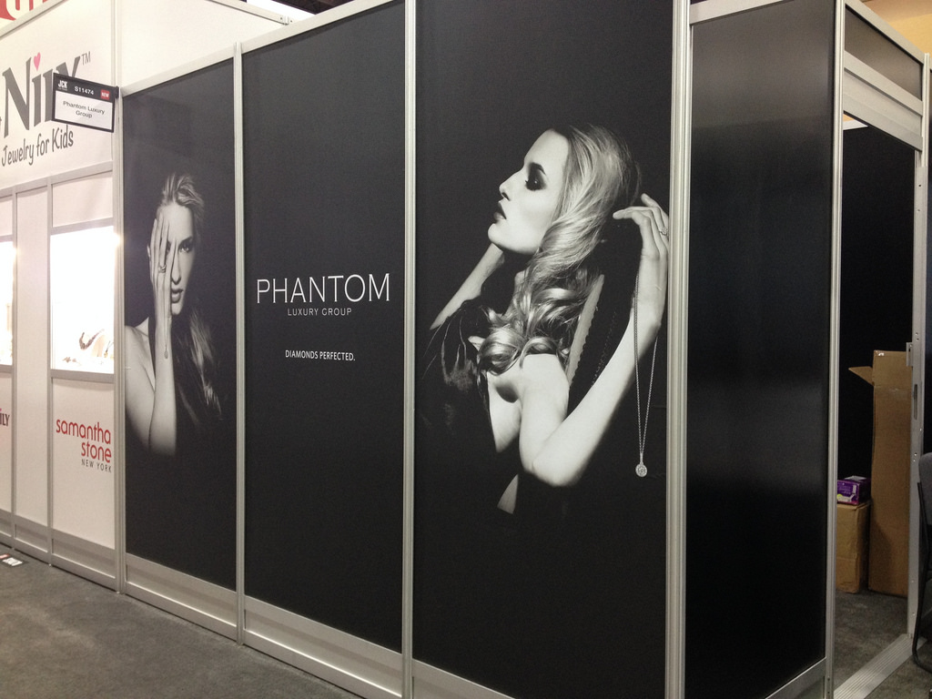Wall Signage Wrap Vinyl Restick Fabric