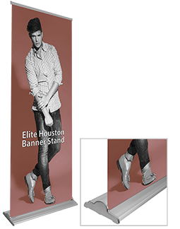 Elite Houston 36 Banner Stand