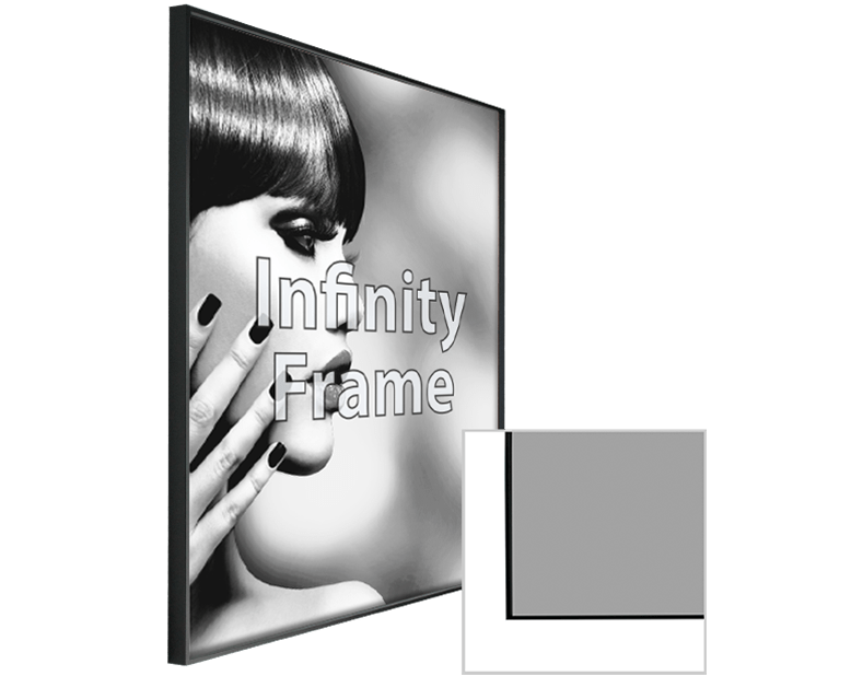 Infinity Frame with Print - 40 VISUALS