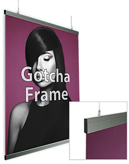 Gotcha with Hanging Stay-Flat Print
