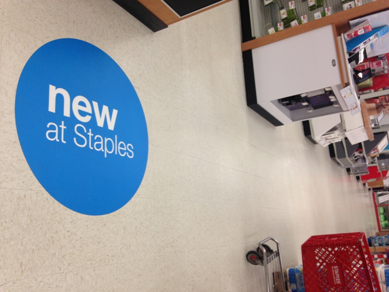 Adhesive Backed Floor Wrap at Staples